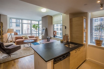 Floor To Ceiling Windows 1 Bedroom Luxury Building Ideal Tribeca Location No Fee